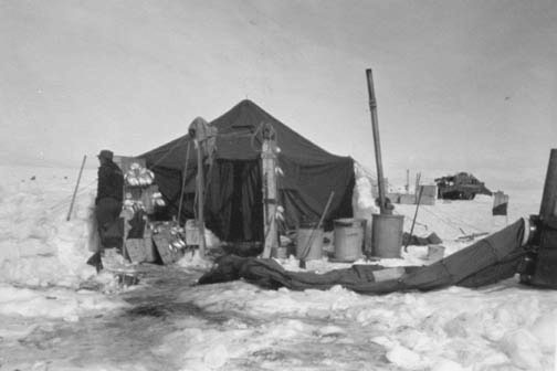 McMurdo Base 1955